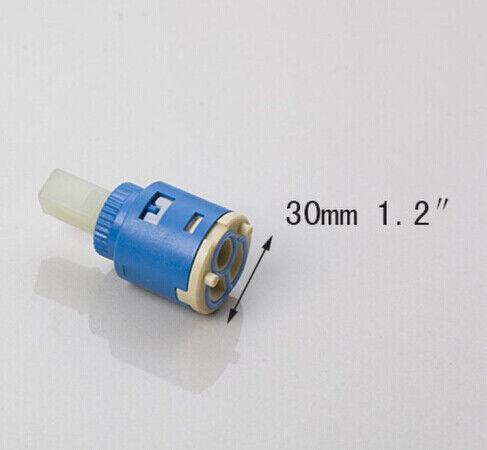 Replacement Ceramic Disc Cartridge Core 20//25//35//40mm Smooth Mixer Faucet Valve