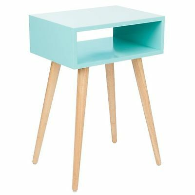 NEW Zanui Marni Gloss Aqua Bedside Table