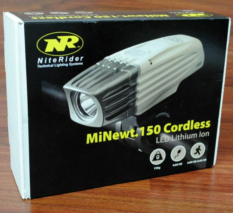 NITERIDER MINEWT 150 CORDLESS LED LITHIUM ION HEADLIGHT