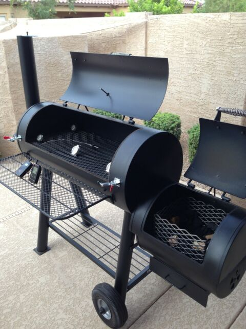 Oklahoma Joe's Longhorn smoker gasket Brinkmann Trailmaster barbeque  Horizon mod