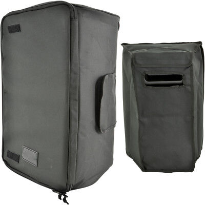 """10"""" Quality Padded Speaker Transit Carry Case//Bag-Outdoor Cover Zip Velcro DJ PA"""