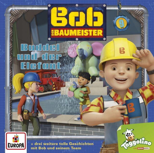 BUDDEL UND DER ELEFANT - 009/BOB DER BAUMEISTER   CD NEW!