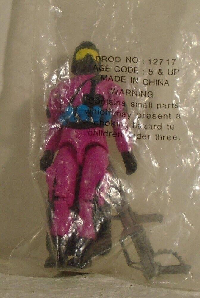 Gi Joe crear una Cobra Trooper correo lejos Menta En Bolsa Sellada Hasbro 1993 Rara