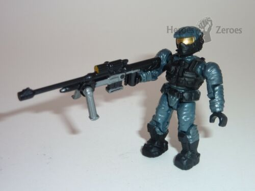 Halo Mega Bloks Set #97108 UNSC Stealth Marine with Detailed Sniper Rifle Figure