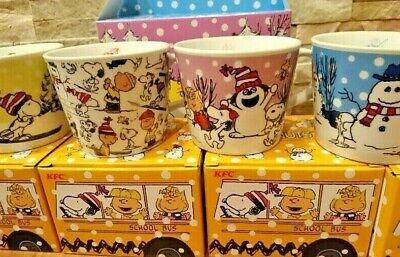Snoopy Mug Cup All 4 type set Japanese Kentucky KFC Limited 2019