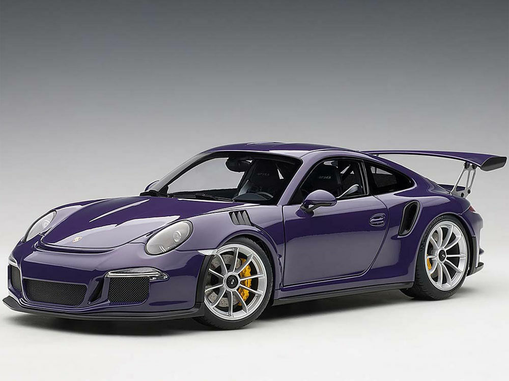 40% de descuento 1 1 1 18 Autoart 78169 Porsche 911 (991) gt3 RS (ultrapúrpura plata Wheels) 2016  disfruta ahorrando 30-50% de descuento