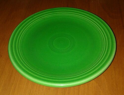 Vintage Fiesta Medium Green Bread Plate 6.25'' Rarest Color Near Mint Gorgeous