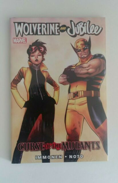 Marvel TPB Graphic Novel Wolverine and Jubilee Curse of the Mutants New & Sealed