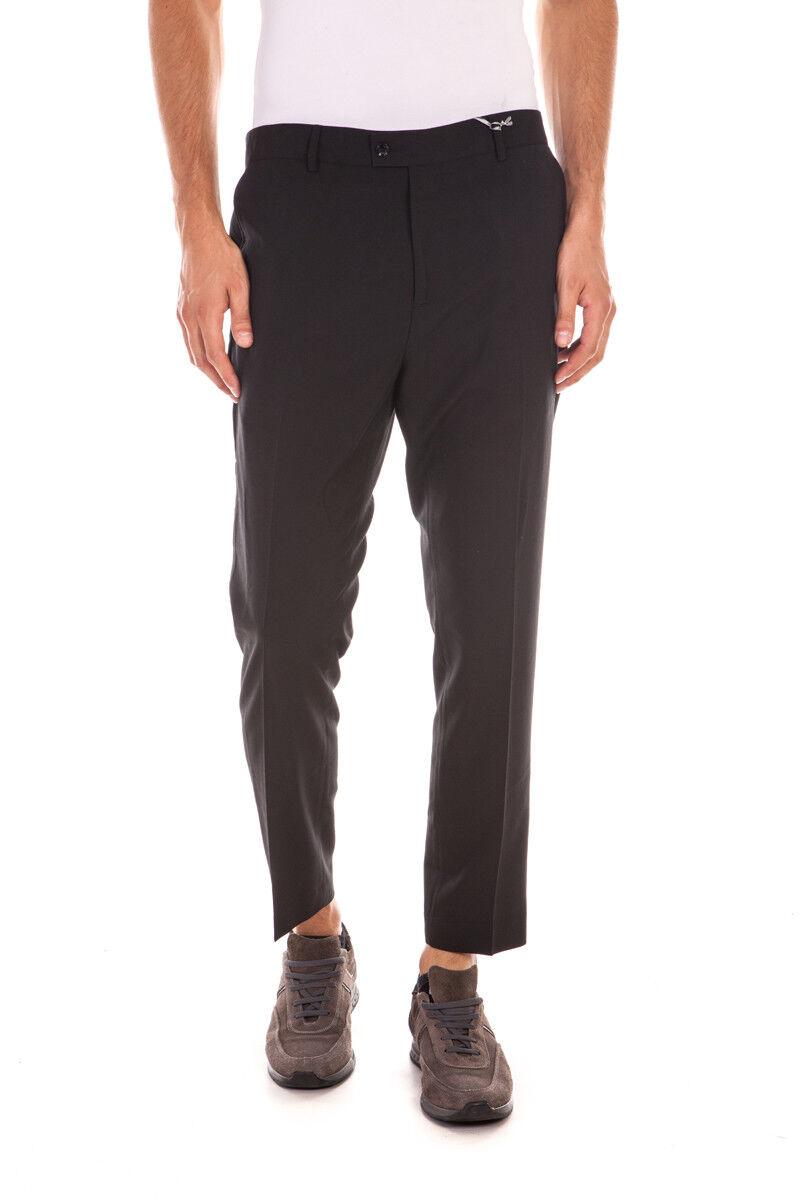 Pantaloni Daniele Alessandrini Jeans Trouser men black P3143S18133506 1