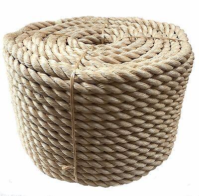 Dedito Rope-sintetico Sisal, Sisal, Sisal Per Tavole Per Terrazza, Giardino E Nautica, 24mm X 100m- Acquista Ora