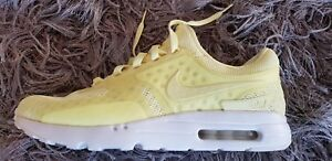 buy popular d60ff 68c01 Details about NIKE AIR MAX ZERO BREATHE SZ 10.5 SHOES LEMON CHIFFON YELLOW  903892-700 MEN'S