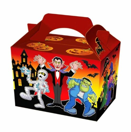 Treat Boxes 12 x Halloween Party Meal