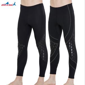 XL Men Wetsuit Pants  Neoprene Warm Scuba Snorkel Surfing Diving Trousers S