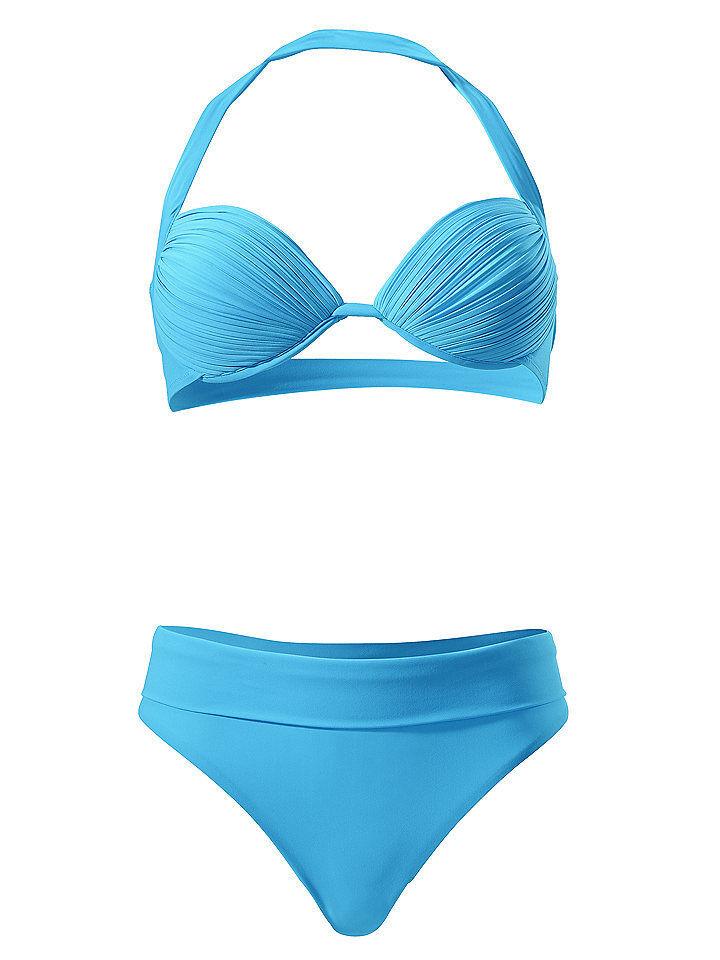 Heine NEU!! Falten Spitze Gelb Push-up-Bikini KP 89,90 € /%SALE/% Cup B