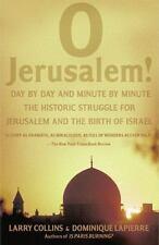 O Jerusalem! by Larry Collins and Dominique Lapierre (1988, Paperback)