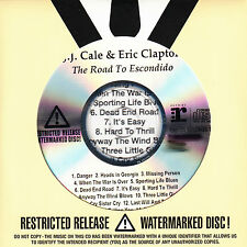 J.J.CALE & ERIC CLAPTON The Road To Escondido UK 14-trk numbered promo test CD