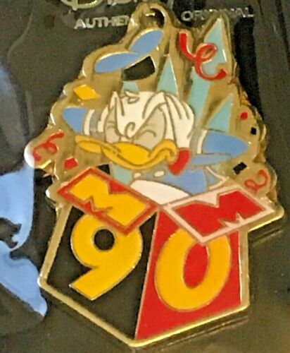 Disney pins 90th anniversary of Mickey Mouse Donald Duck Pin