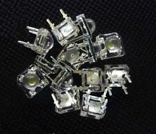 50 pcs 5mm 4pin Piranha LED Yellow Super Bright LED light NEW