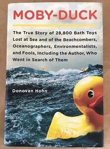 Moby Duck memoir hardcover Donovan Hohn Viking 2011 first ed. book ecology ocean