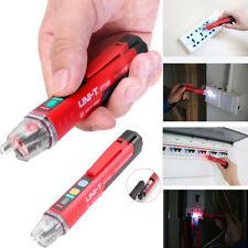 Led Ac Electrical Voltage Power Detector Sensor Tester Non Contact Pen 90 1000v