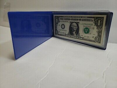 10 Consecutive Serial # US $2 DOLLAR BILLS Uncirculated in 10-Pocket PORTFOLIO