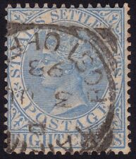 STRAITS SETTLEMENTS 1894 8c.used (TAIPING Proud D9) - creased @P890