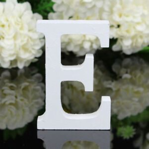 Wood Alphabet Wall Letter for Baby Name Girls Bedroom BirThday Party Decor G