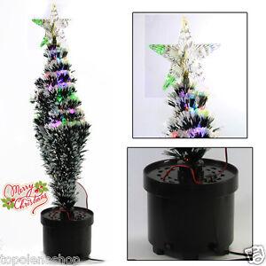 Decorazioni Natalizie Per Ufficio.Mini Albero Di Natale Con Luci A Led Stella Decorazione Casa