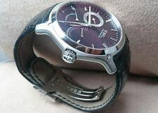 Ebel Hexagon, luxury Automatic watch with power reserve indicator