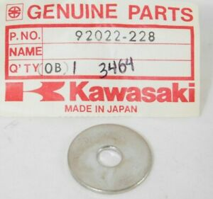Kawasaki NOS NEW 92022-240 Plain Washer 7mm H1 H2 S1 ZX KZ KE KDX 1974-85