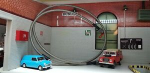 Austin Mini Morris A Series Engine Smiths Oil Pressure Gauge Braided Link Hose