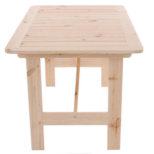tavolo sedia GIARDINO-Set da Copenaghen II legno gastroqualität naturale