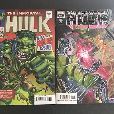 Immortal Hulk #43 RECALLED ISSUE SOLD OUT Cover A Marvel 2021 NM unread