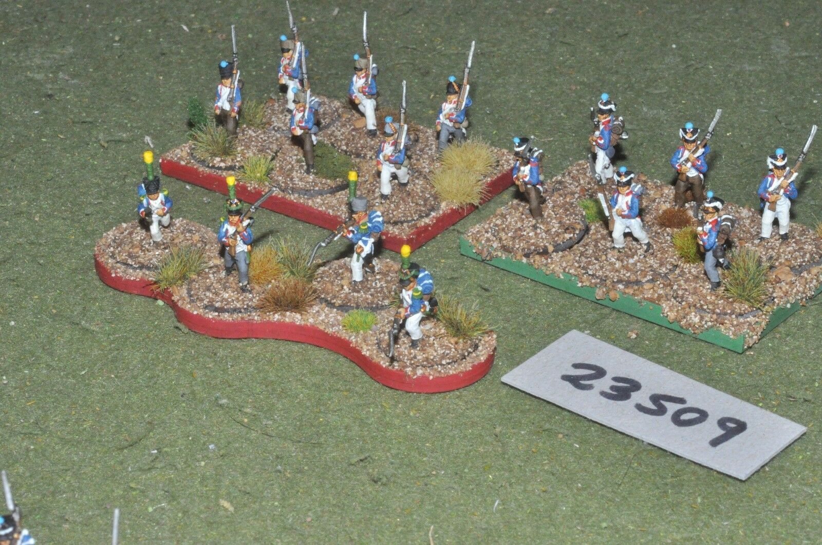 15mm ACW   french - line 16 figures - inf (23509)