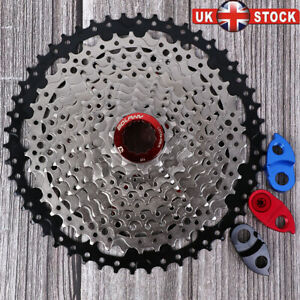 UK-bolany-8-9-10-11-Velocidad-Bicicleta-De-Montana-Bici-Cassette-11-40-42-46-50T-ajuste-Shimano-SRAM