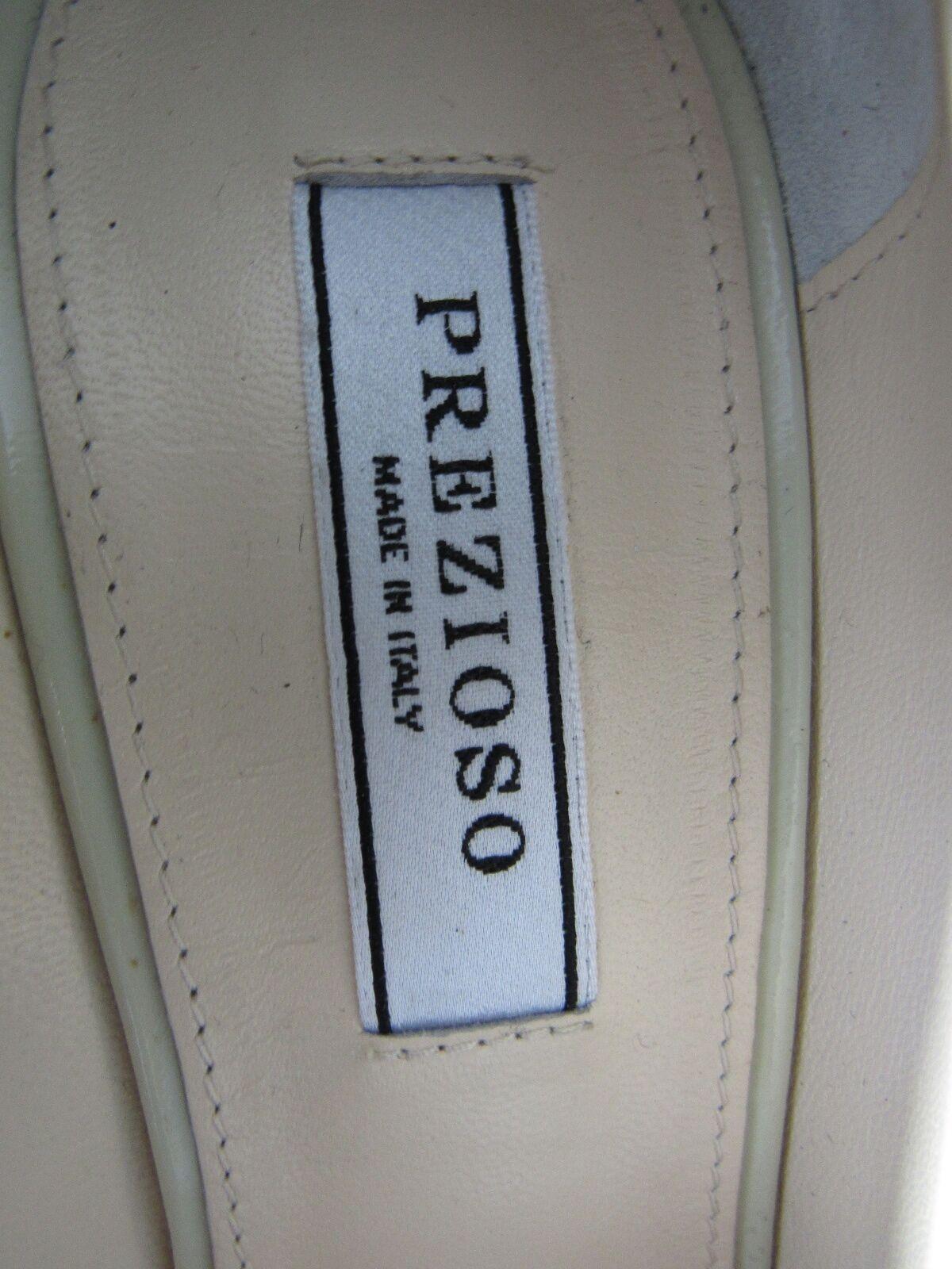 Nuevo Italia Beige Charol Plataformas cinta Prezioso cinta Plataformas Tacones Zapatos Talla 39 cddecb