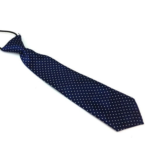 Elastic Neck Adjustable Tie Baby Boys Girls Child Toddler Wedding Kids Necktie