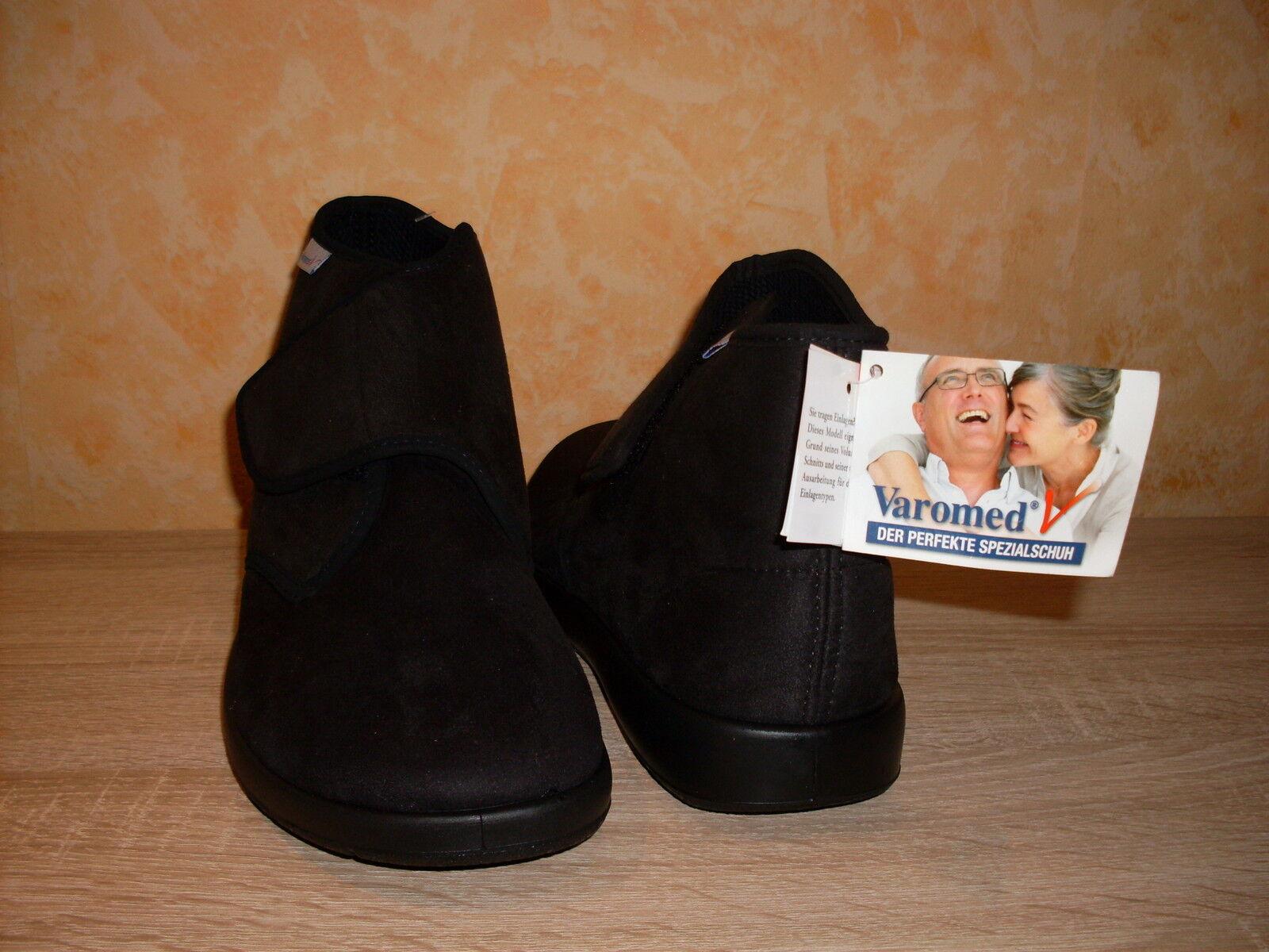 Hallux Therapie Klett / Stiefelette von Varomed in schwarz & Stretch NEU Gr. 46