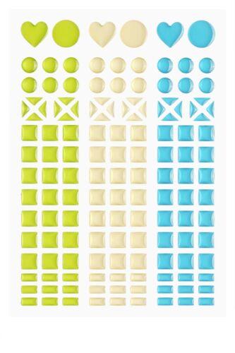 Champagner Mosaik-Sticker *Apfelgrün Türkis* 3451810 NEU