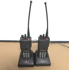 Lot 2x Motorola Mts2000 2 Way Radio Withcharger H01uch6pw1bn Unprogrammed