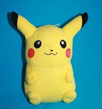 """Pokemon PIKACHU 8"""" Yellow Plush Soft New Toy Factory Stuffed 2012 Sewn Eyes"""