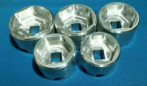 5 set 24 26 28 30 32 mm Fork Sockets:Tool FOX//Rockshox//Magura//DVO top//air cap