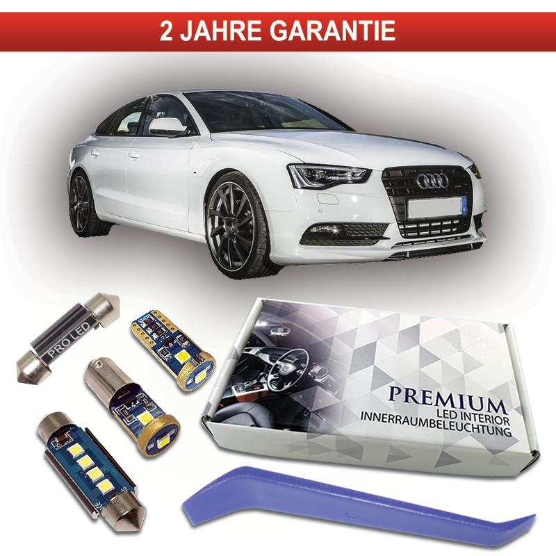 2x TOP LED Modul 18 SMD Fußraumbeleuchtung Audi A4 Allroad 8KH B8 WEIß