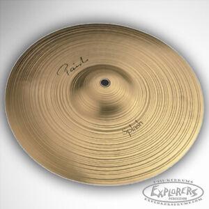 paiste signature series 10 splash cymbal 4002210 697643102132 ebay. Black Bedroom Furniture Sets. Home Design Ideas