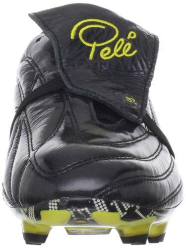 Pele Sports 1962 Fg Ms Black Yellow Soccer Football Shoes 41,5 43 45 47 11 World