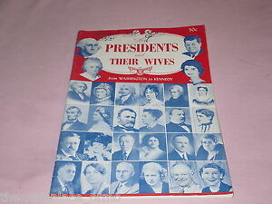 The-Presidents-And-Their-Wives-Washington-To-Kennedy-Haskin-Service