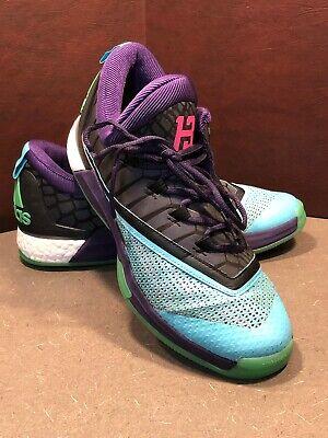 Adidas Men's Crazylight Boost 2.5 Low Dark Purple Basketball