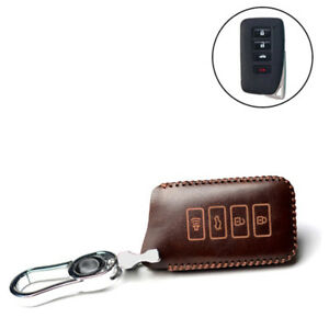 4-Buttons-Soft-PU-Leather-Remote-Key-Shell-Fob-Case-Holder-Cover-For-Lexus-A