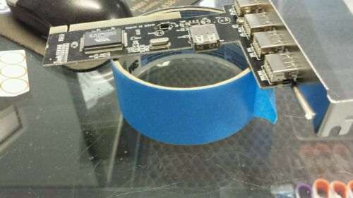 New 5 Port USB 2.0 PCI Card High Speed 480Mbps Hub VT6202L Chipset 2 #74