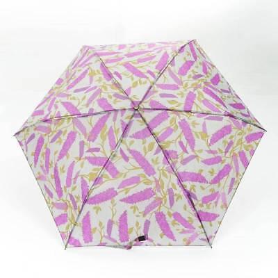 Eco-Chic Foldable Compact Manual Mini Umbrella Durable Poppies